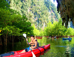 Kayaking in Chalong Phuket