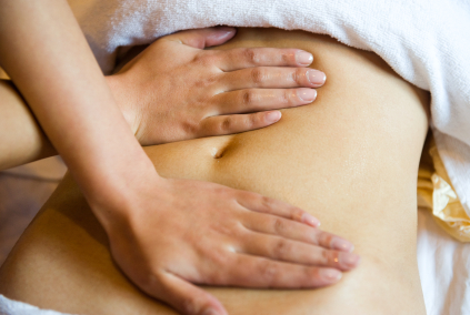 Maya abdominal treatment massage